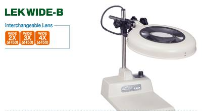 LED ILLUMINATED MAGNIFIER - LEK WIBE SERIES