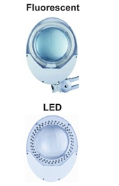 MAGNIFIER - LIGHTING LED / T4