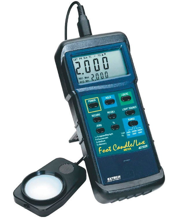 Heavy Duty Light Meter - 407026