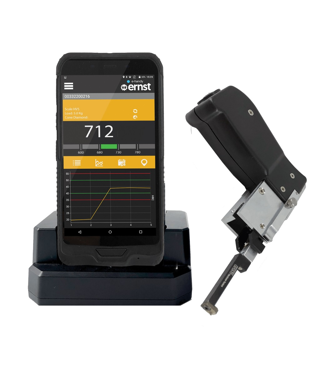 E-HANDY  - WIRELESS PORTABLE HARDNESS TESTER