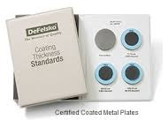 COATING THICKNESS STANDARDS